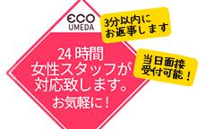 スピードエコ梅田のお店のロゴ・ホームページのイメージなど