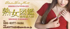熟女図鑑 徳島素人版のお店のロゴ・ホームページのイメージなど
