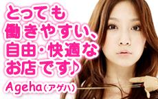 Ageha(アゲハ)のお店のロゴ・ホームページのイメージなど