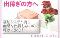 GABAIキューティーのお店のロゴ・ホームページのイメージなど