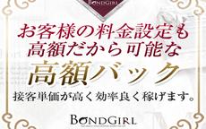 ボンドガールのお店のロゴ・ホームページのイメージなど