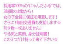 にゃんだフルボッキ 日本橋店のLINE応募・その他(仕事のイメージなど)