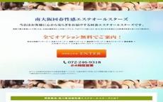 南大阪回春性感エステオールスターズのお店のロゴ・ホームページのイメージなど