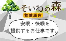 そいねの森 秋葉原店のLINE応募・その他(仕事のイメージなど)